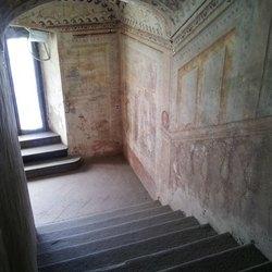 L'interno del castello di Melegnano