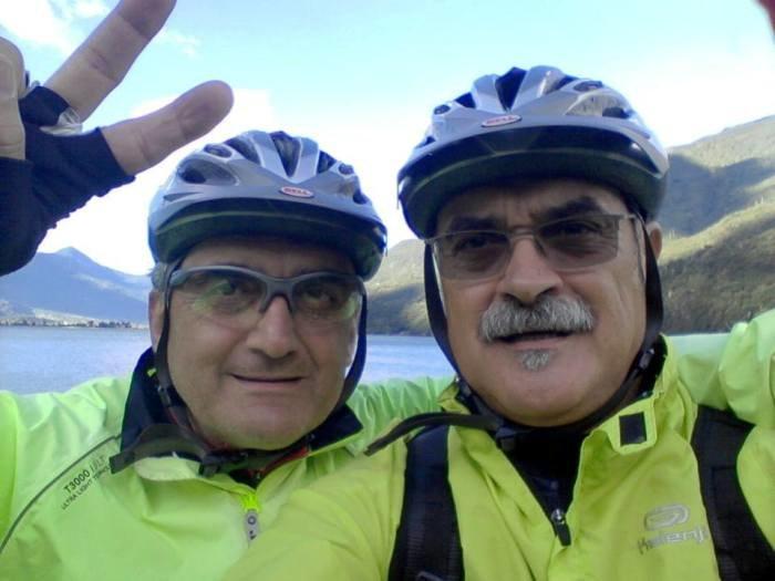 Ezio Intropido (a destra) e Paolo Montemaggi (a sinistra)