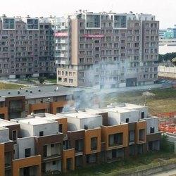 Incendio in via Tognazzi