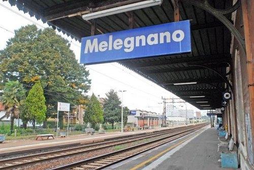 La stazione di Melegnano