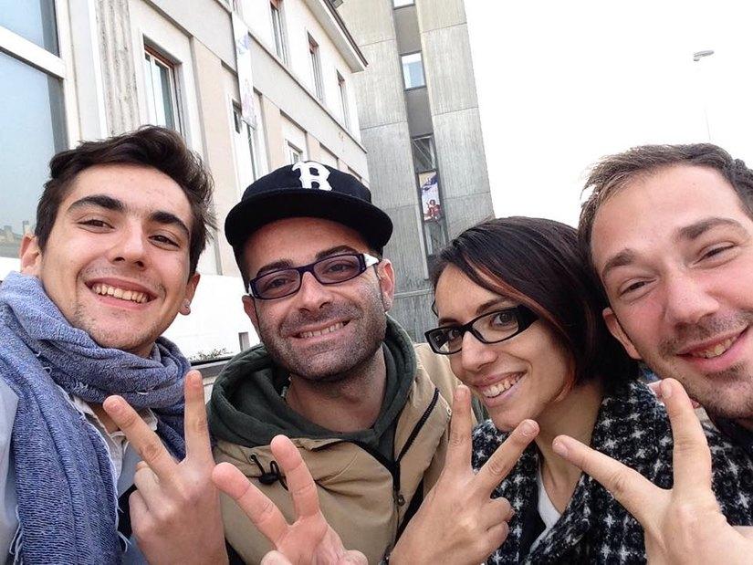 Antonio Ricchiuti e la sua Crew