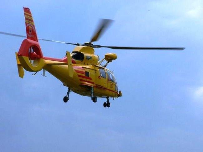 Elicottero Niguarda : Pioltello si ustiona con il tè bollente bimbo di mesi