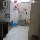La lavanderia allagata