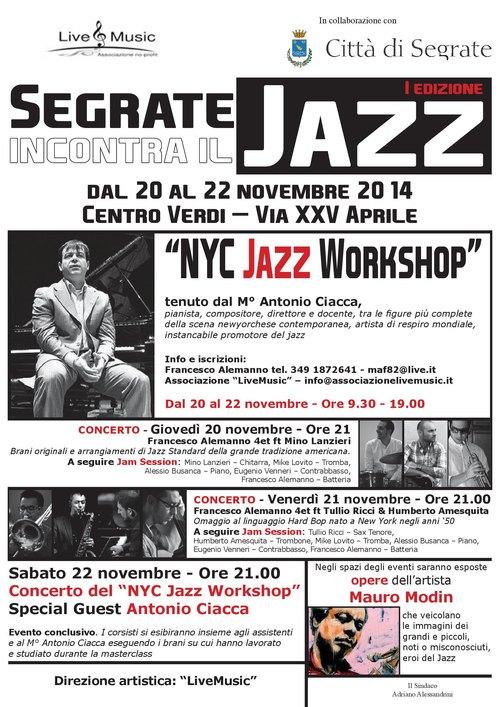 Segrate incontra il Jazz