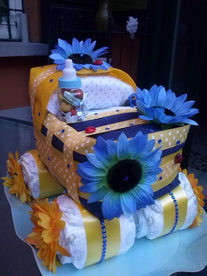 Un'altra diaper cake