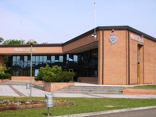 Il Municipio di Vizzolo
