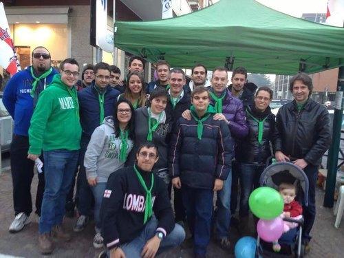 Gazebo del Movimento Giovani Padani