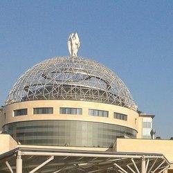 La cupola con l'Angelo del San Raffaele