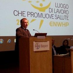 Il Sindaco Alessandrini al Convegno  Programma WHP di ASL Milano 2