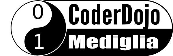 Il logo dell'associazione CoderDojo Mediaglia