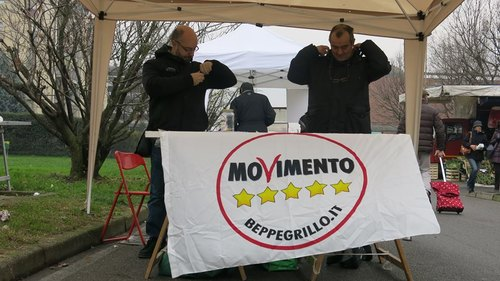 Da sinistra Davide Toselli e Paolo Spreafico Consiglieri comunali