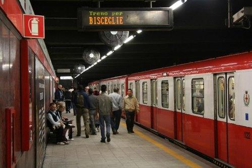 La linea Rossa della metropolitana