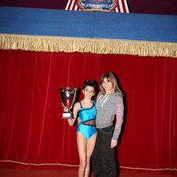 L'atleta tribianese e il suo insegnante