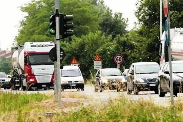 Traffico lungo la Paullese