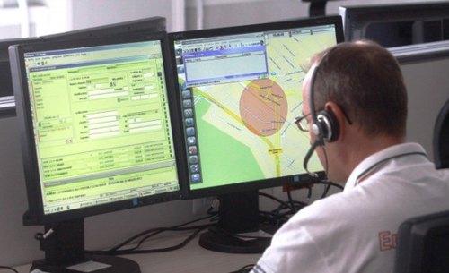 Un operatore del Numero unico per le emergenze