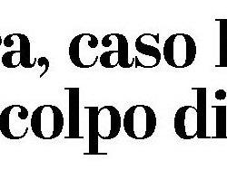 Il titolo del quotidiano del Sud Milano
