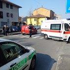 Il traffico deviato in seguito all'intervento dei mezzi di soccorso