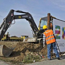 Cantiere per Expo 2015