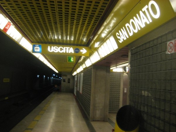 Il capolinea di San Donato