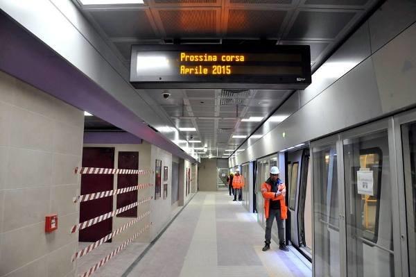 Conto alla rovescia per le nuove fermate della linea Lilla