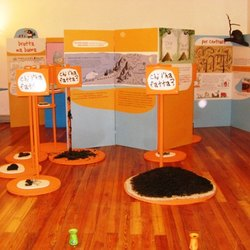 Una delle installazioni presenti nel museo