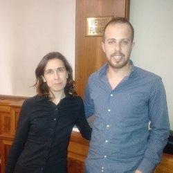 Anna Baratella e Giancarlo Capriglia