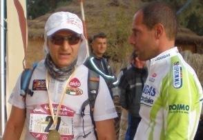 Raffaele Brattoli e l'amico Claudio