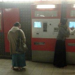 Rom ai distributori dei biglietti