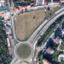 L'area dove sorgerà il centro commerciale Westfield