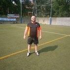 Don Luca, marcatore della partita