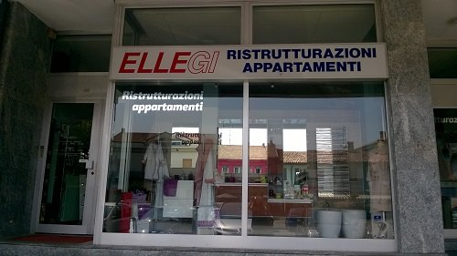 Lo show room di via Gramsci