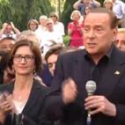 Berlusconi con Fraschini e Gelmini