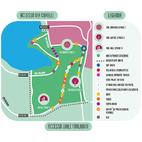 La mappa del Parco Forlanini con tutti gli stand