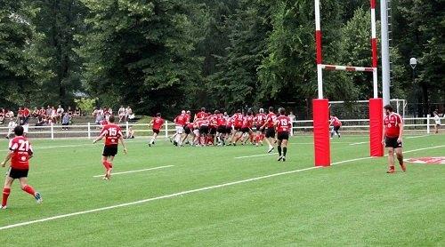 Il nuovo campo di rugby all'Idroscalo