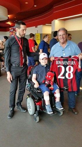 Francesco Cucca, il piccolo-grande tifoso del Milan