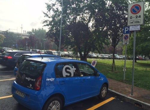 Il car sharing presso il Municipio sandonatese