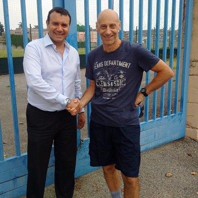 Stefano Faita (FDI-AN) e Fabio Del Prete (Vicepresidente Consulta dello Sport)