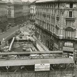 Una delle immagini storiche di Milano visibili alla mostra