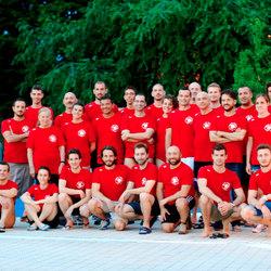 La squadra di nuoto master di Segrate