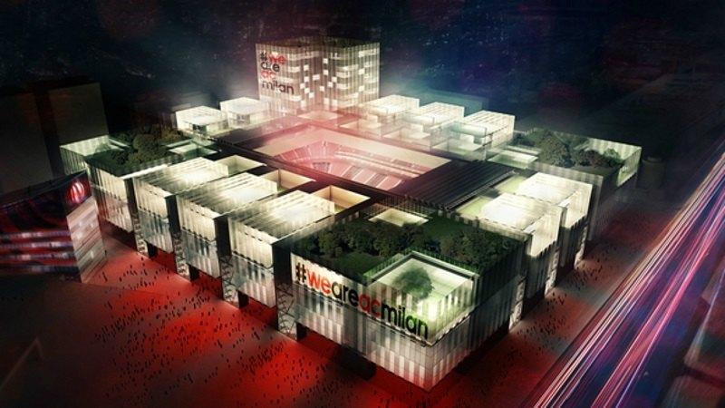 Il progetto per il nuovo stadio del Milan