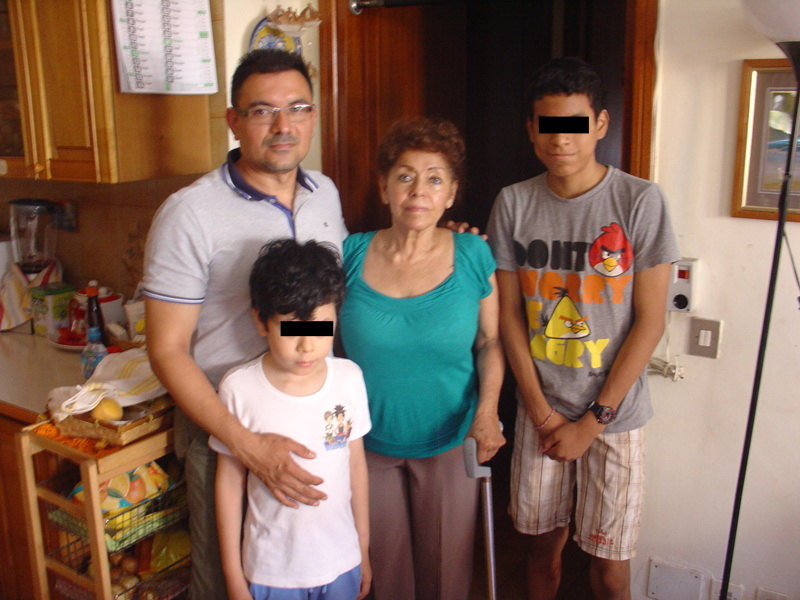 La famiglia Paz Canarte