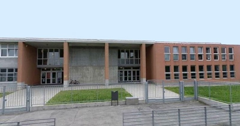 la scuola Gianni Rodari di San Giuliano Milanese