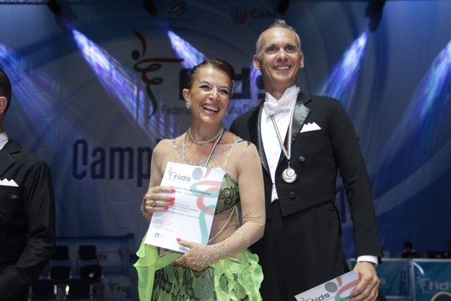Marina Mastropaolo e Lorenzo Patti sul gradino più alto del podio