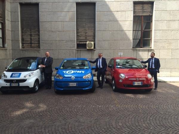 Car2go, Twist e Enjoy, i tre operatori raggiungono la provincia di Milano