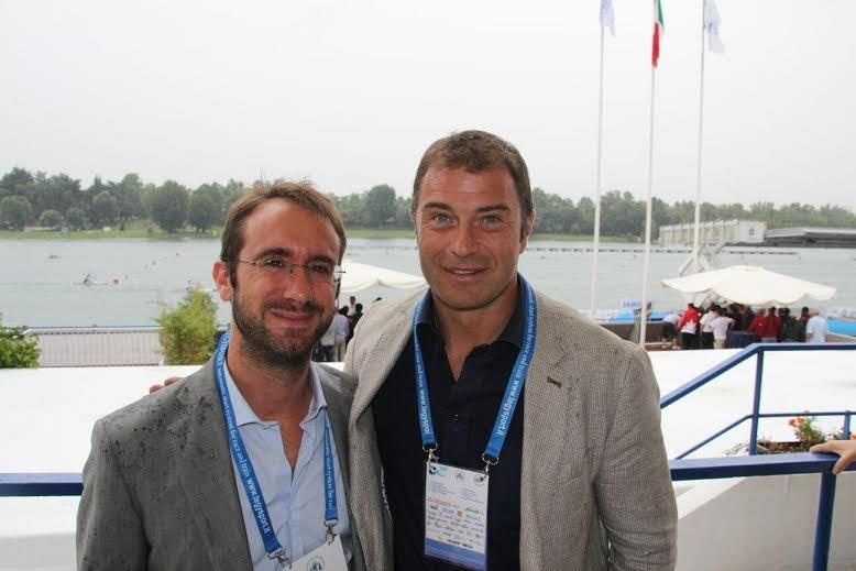 Il Sindaco di Segrate Paolo Micheli e Antonio Rossi