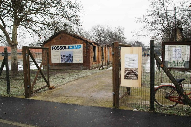 Il campo di concentramento di Fossoli, nei pressi di Parma