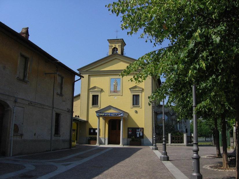 La chiesa di Tribiano