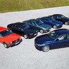 La gamma BMW Serie 3 nell'arco di 40 anni