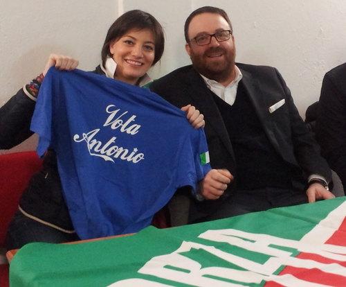 Lara Comi e Antonio Falletta
