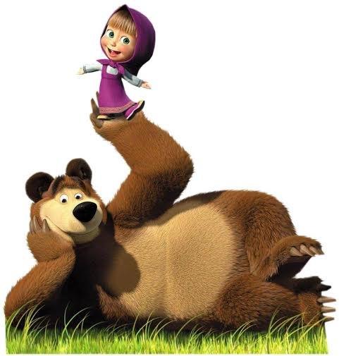 Il simpatico Orso con la combina guai Masha